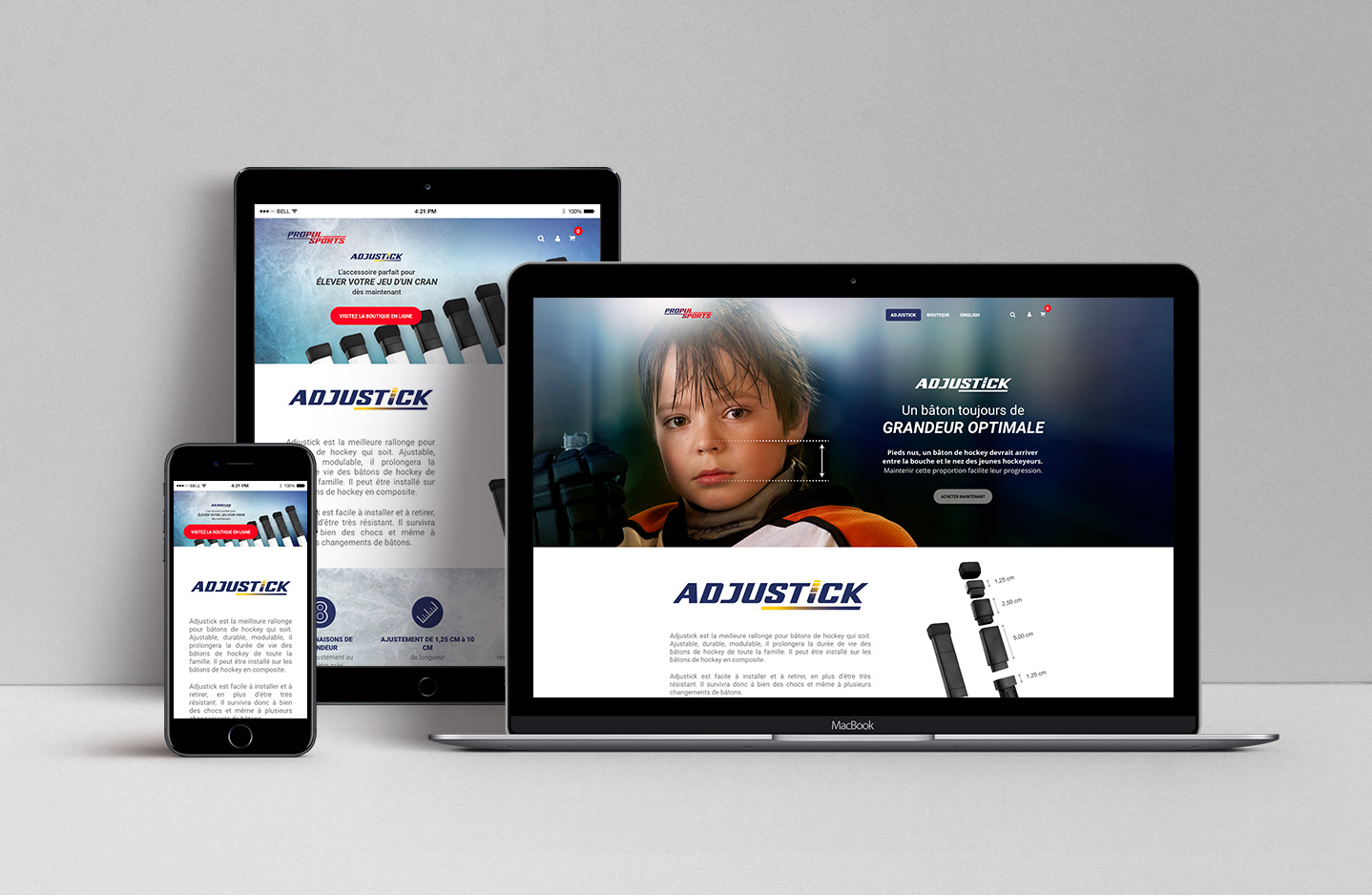 adjustick-site-web
